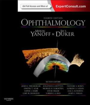 Ophthalmology: Expert Consult: Online and Print de Myron Yanoff