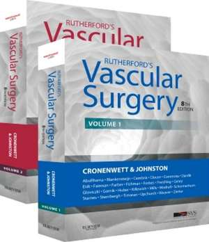Rutherford's Vascular Surgery, 2-Volume Set imagine