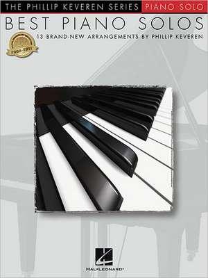 Best Piano Solos: Arr. Phillip Keveren the Phillip Keveren Series Piano Solo de  Hal Leonard Corp