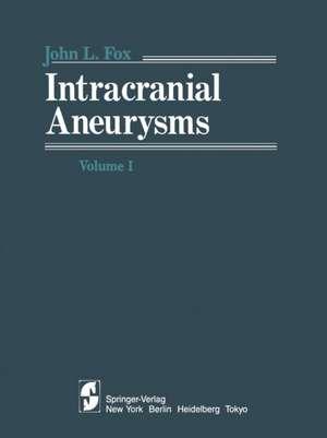 Intracranial Aneurysms Volume 1 imagine