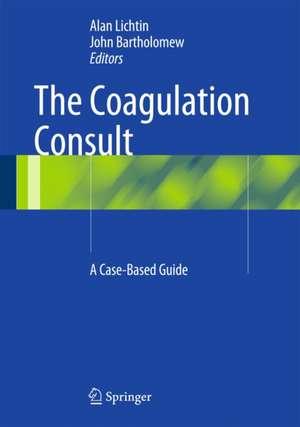 The Coagulation Consult imagine
