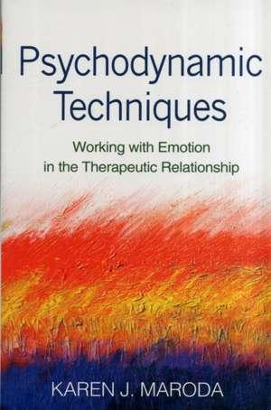 Psychodynamic Techniques imagine