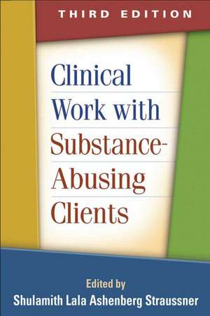 Clinical Work with Substance-Abusing Clients de Shulamith Lala Ashenberg Straussner