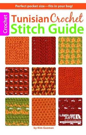 Tunisian Crochet Stitch Guide de Kim Guzman