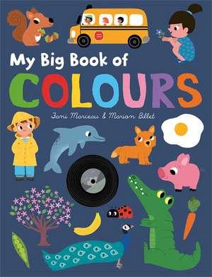 My Big Book of Colours de Marion Billet