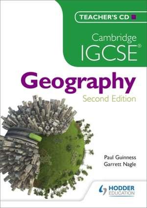 Cambridge IGCSE Geography Teachers CD de Garrett Nagle