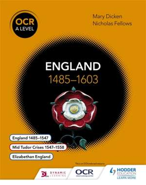 England 1485-1603 de Nicholas Fellows