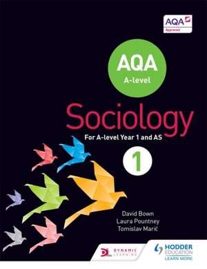 AQA Sociology for A Level de David Bown