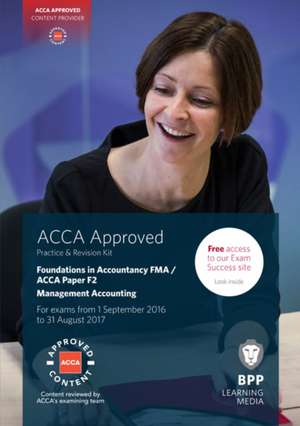 FIA Foundations in Management Accounting FMA (ACCA F2) de BPP Learning Media