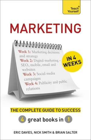 Marketing in 4 Weeks de Eric Davies
