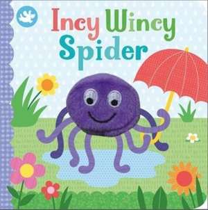 Little Learners Incy Wincy Spider Finger Puppet Book