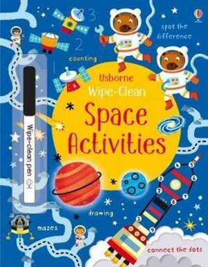 Wipe-Clean Space Activities de Kirsteen Robson