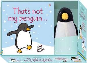 That's Not My Penguin. Book and Toy de Fiona Watt