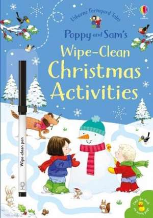 Poppy and Sam's Wipe-Clean Christmas Activities imagine