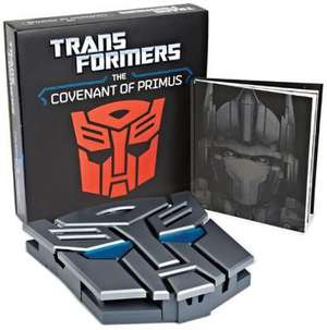 Transformers: The Covenant of Primus Deluxe Hardcover de Justina Robson