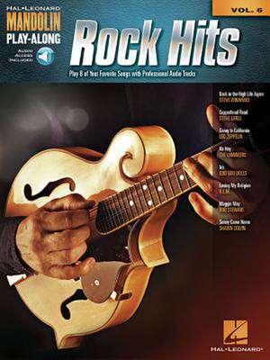 Rock Hits:  Mandolin Play-Along Volume 6 de Hal Leonard Publishing Corporation