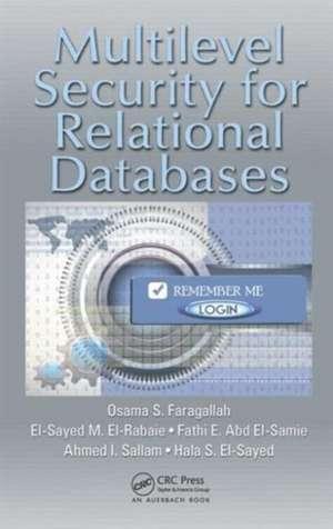 Multilevel Security for Relational Databases imagine