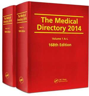 The Medical Directory 2014, 168th Edition