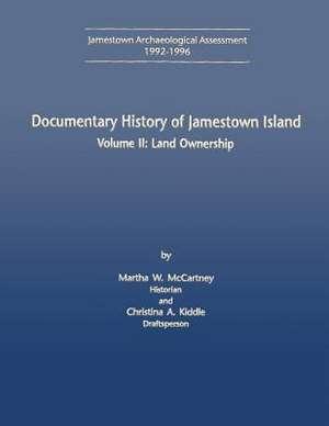 Documentary History of Jamestown Island de National Park Service, U. S. Department