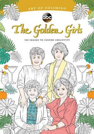 Art Of Coloring: Golden Girls de Disney Book Group