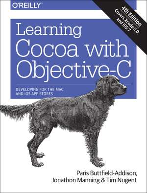 Learning Cocoa with Objective–C 4ed de Paris Buttfield–addis