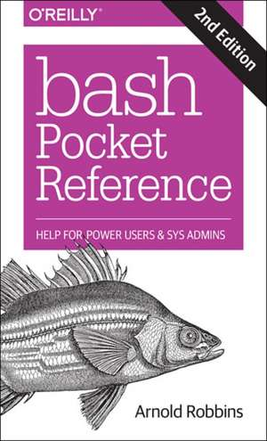 Bash Pocket Reference 2e