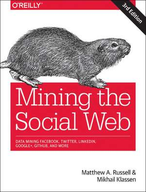 Mining the Social Web, 3e de Matthew A Russell