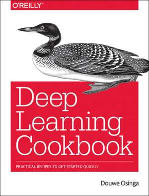 Deep Learning Cookbook de Douwe Osinga