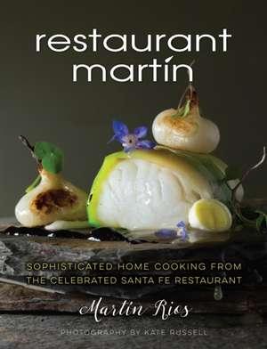 The Restaurant Martin Cookbook imagine