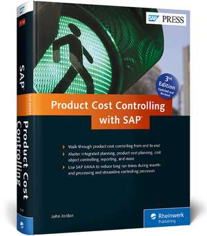 Product Cost Controlling with SAP de John Jordan
