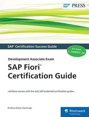 SAP Fiori Certification Guide de Krishna Kishor Kammaje