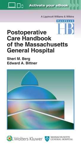 Massachusetts General Hospital Postoperative Care Handbook
