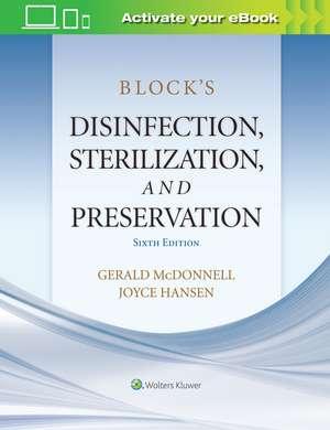 Block's Disinfection, Sterilization, and Preservation imagine