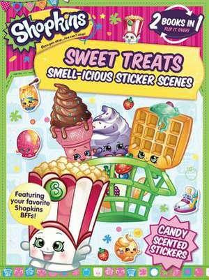 Shopkins Sweet Treats/Cheeky Chocolate (Sticker and Activity Book) de Little Bee Books