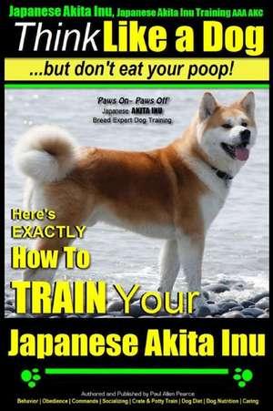 Japanese Akita Inu, Japanese Akita Inu Training AAA Akc de Pearce, MR Paul Allen