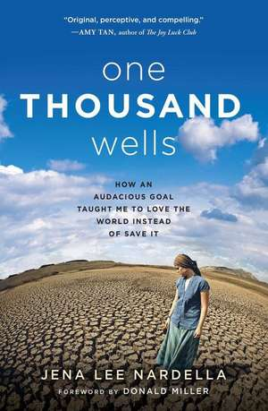 One Thousand Wells:  How an Audacious Goal Taught Me to Love the World Instead of Save It de Jena Lee Nardella