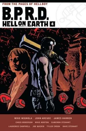 B.p.r.d. Hell On Earth Volume 4 de Mike Mignola