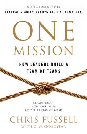 One Mission de Chris Fussell