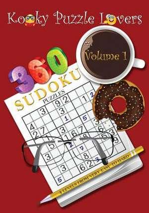 Sudoku Puzzle Book, Volume 1 de Kooky Puzzle Lovers