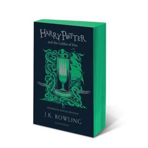 Harry Potter and the Goblet of Fire – Slytherin Edition de J. K. Rowling