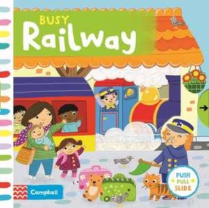 Busy Railway de Jo Byatt