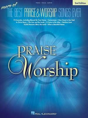 More of the Best Praise & Worship Songs Ever de  Hal Leonard Corp