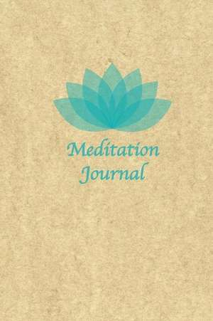 Meditation Journal (Green Lotus) de Press, Zenergy