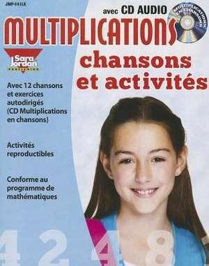 Multiplications Chansons Et Activites de Marie-France Marcie