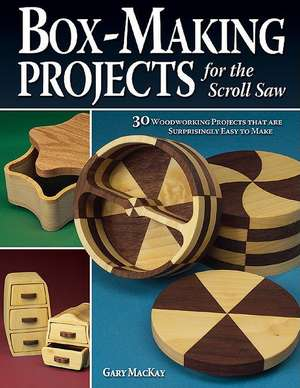 Box-Making Projects for the Scroll Saw imagine