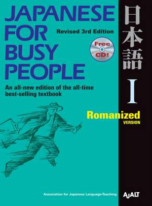 Japanese For Busy People 1: Romanized Version de AJALT