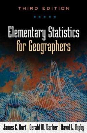 Elementary Statistics for Geographers imagine