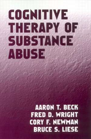 Cognitive Therapy of Substance Abuse imagine