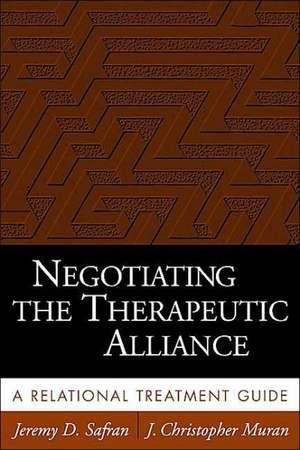 Negotiating the Therapeutic Alliance imagine