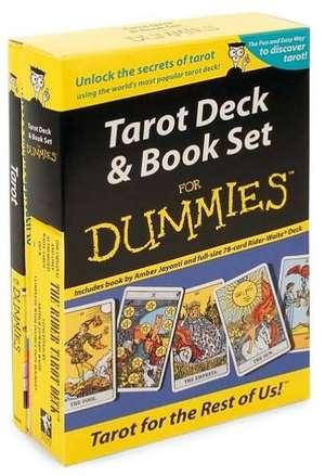 Tarot Deck & Book Set for Dummies [With Book] de Amber Jayanti